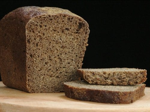 Bread Machine Pumpernickel Bread Recipe, traditional healthy dark rye bread