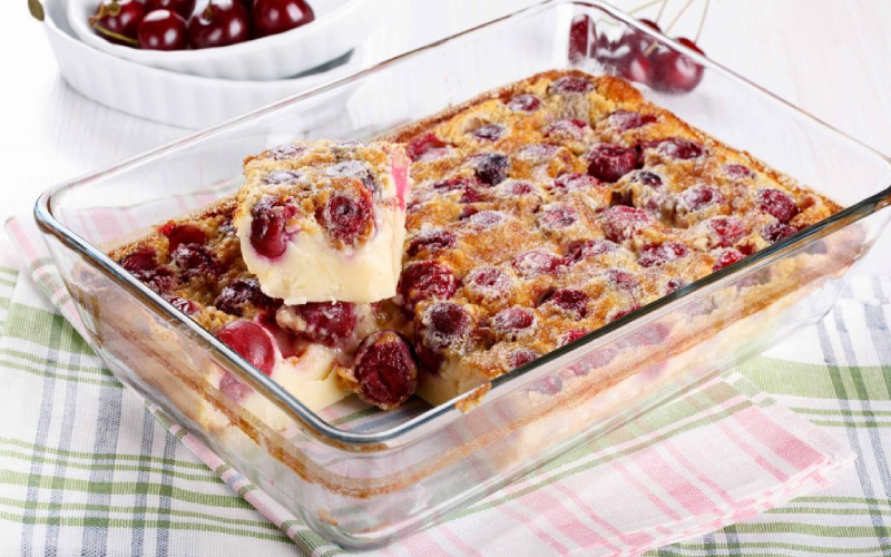 cherry squares holiday