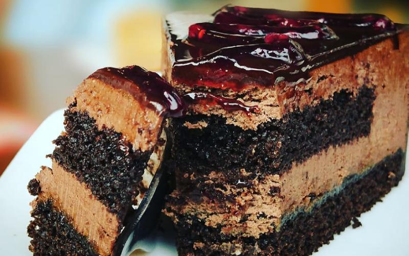 Spiced Chocolate Zucchini Cake Recipe