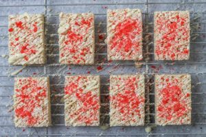 Strawberry Marshmallow Crispy Bars Recipe