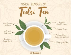 7 Amazing Health Benefits Of Tulsi Tea