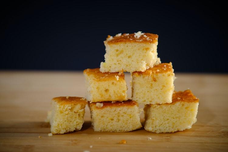 Vegan Cornbread Recipe - dairy free cornbread