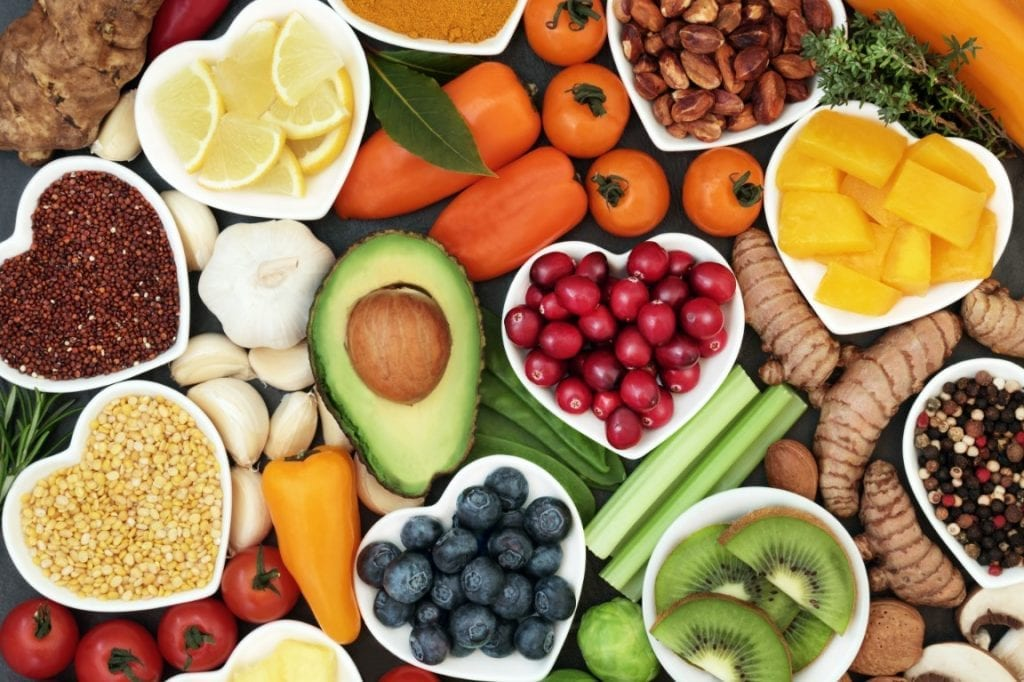 food gift ideas for new parents, healthy vegetables and fruits
