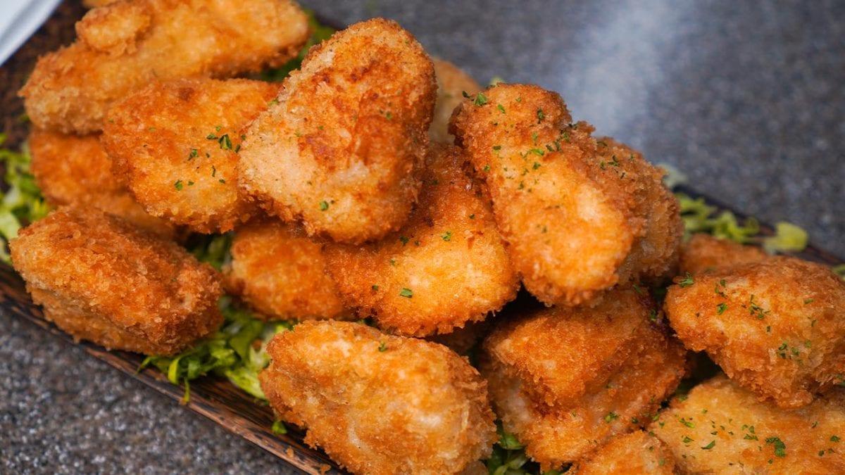 Burger King Chicken Nuggets Recipe - Crispy chicken nuggets