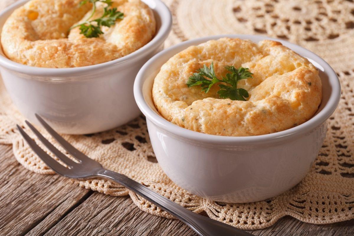 Four Cheese Panera Souffle Recipe (Copycat), Copycat four cheese panera breakfast souffle with spinach