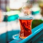 Blackcurrant Tea Recipe, herbal tea made with berries and black currant leaves