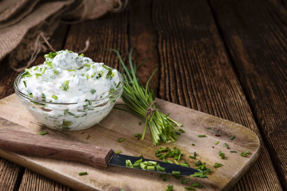 Easy Herb Cream Cheese Dip Recipe