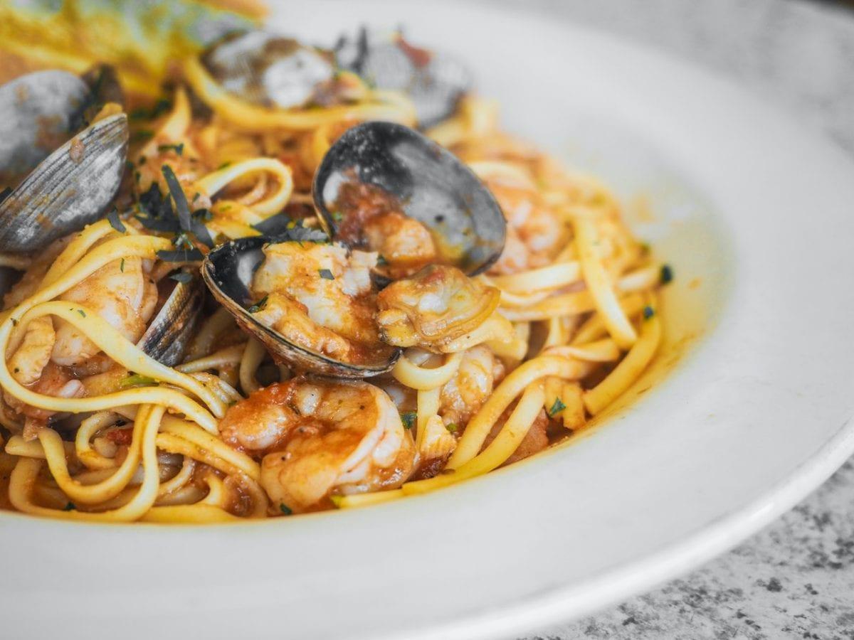seafood spaghetti frutti di mare