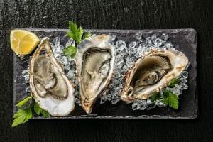 aphrodisiac foods: oysters
