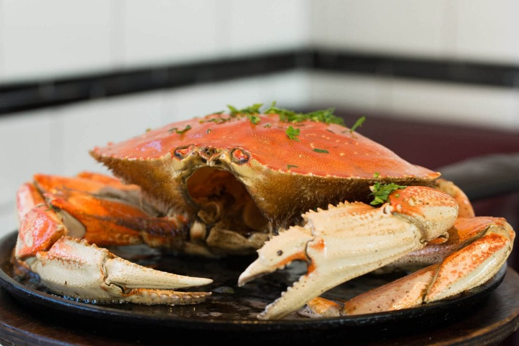 Roasted Dungeness Crab Recipe