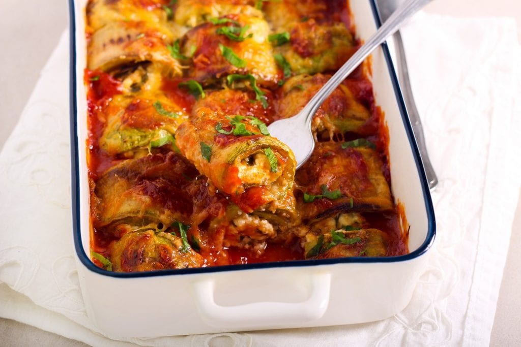 zucchini rollatini recipe