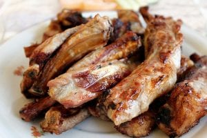 broiled pork spare ribs recipe