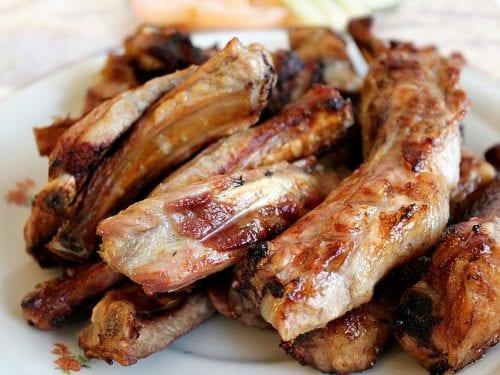 broiled pork spare ribs recipe