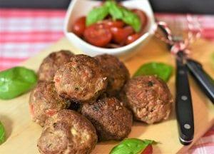 Crispy Laab Meatballs Recipe