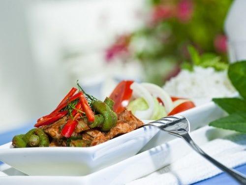 Dry Red Curry Pork Stir Fry Recipe