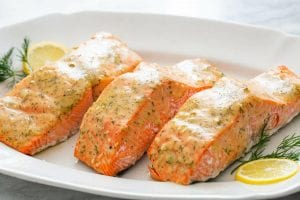 Honey Mustard Baked Salmon Recipe