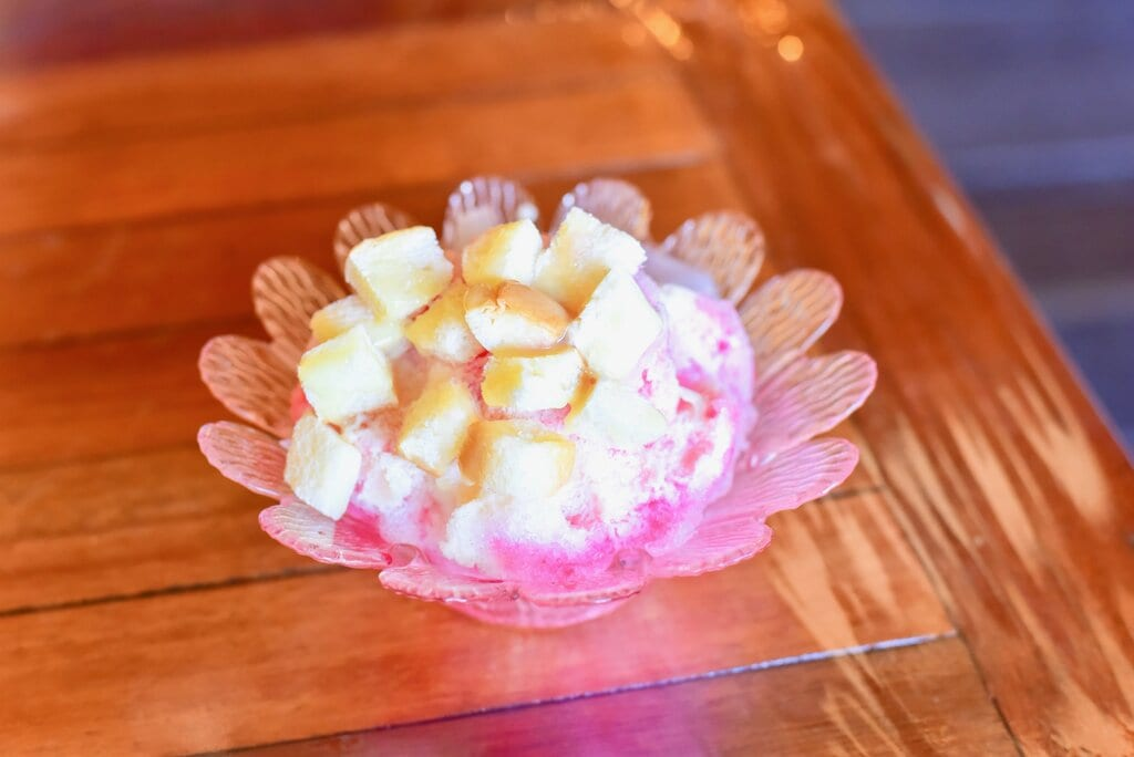 Nam Kang Sai (Shaved Ice Dessert) Recipe