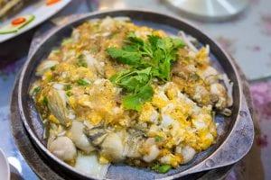 Oyster Omelette Recipe