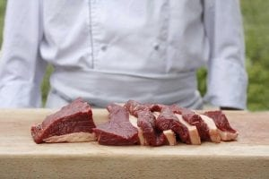 slices of picanha