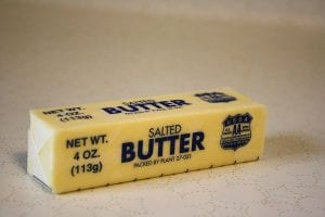 stick of salted butter