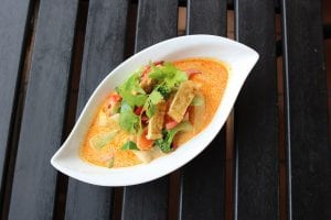bowl of panang curry