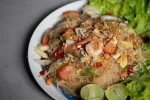 Yum Woon Sen (Glass Noodle Salad) Recipe