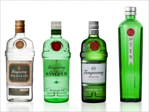 different types of tanqueray