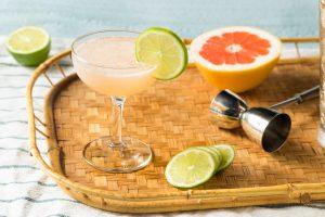 Hemingway daiquiri cocktail with maraschino liqueur