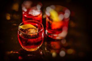 negroni cocktails