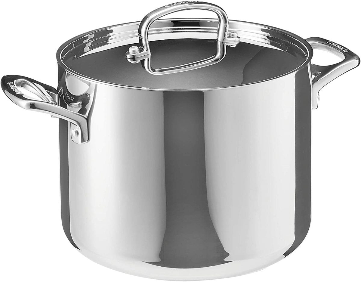 Cuisinart silver stock pot