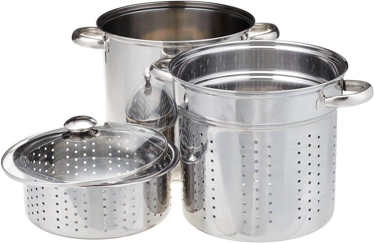 Excel Steel silver multi-cookware set