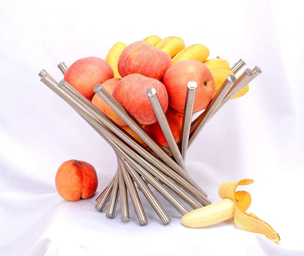 Stainless steel rotation fruit holder