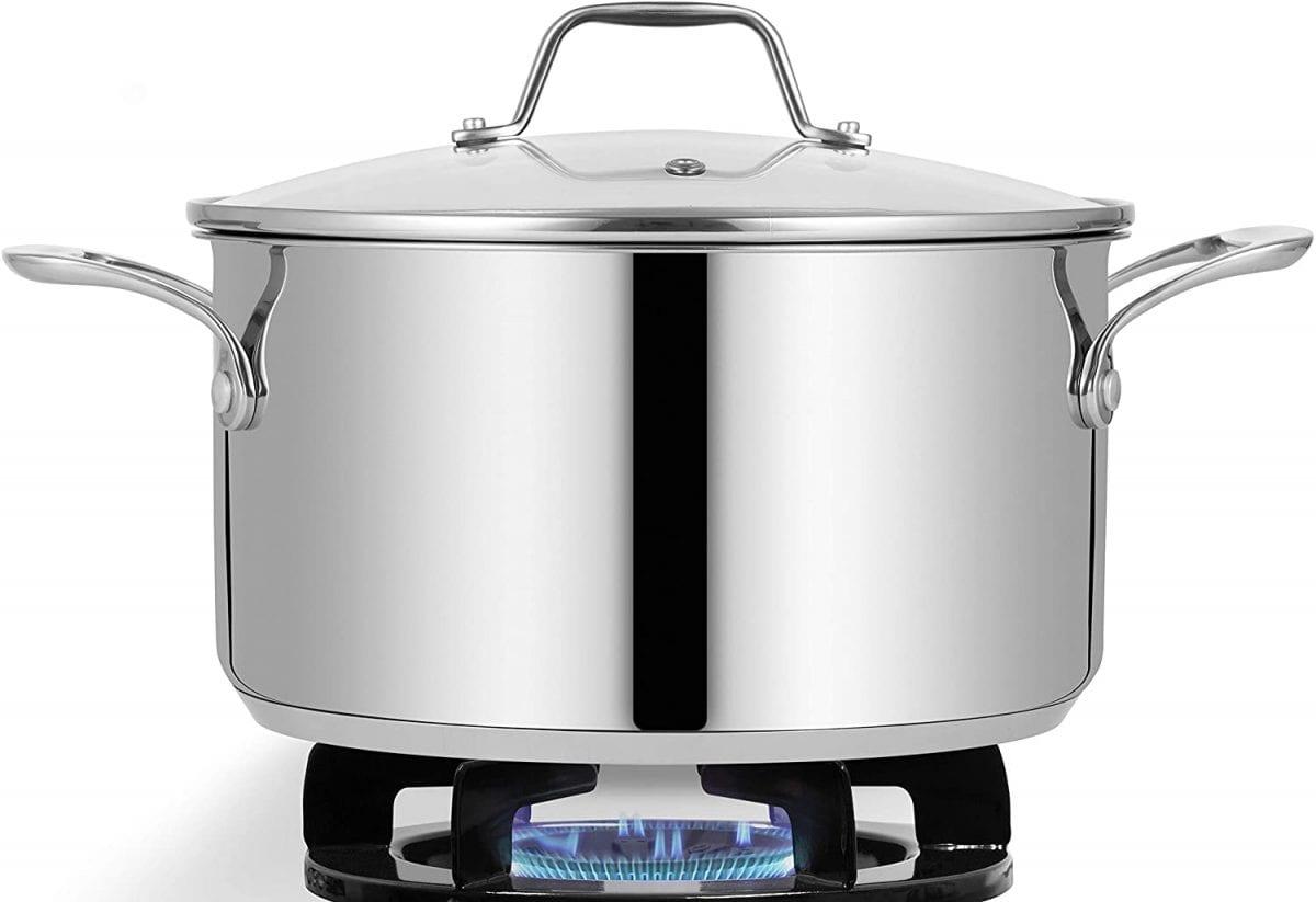 NutriChef pot on a stove