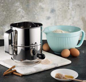 baking instrument, flour, eggs