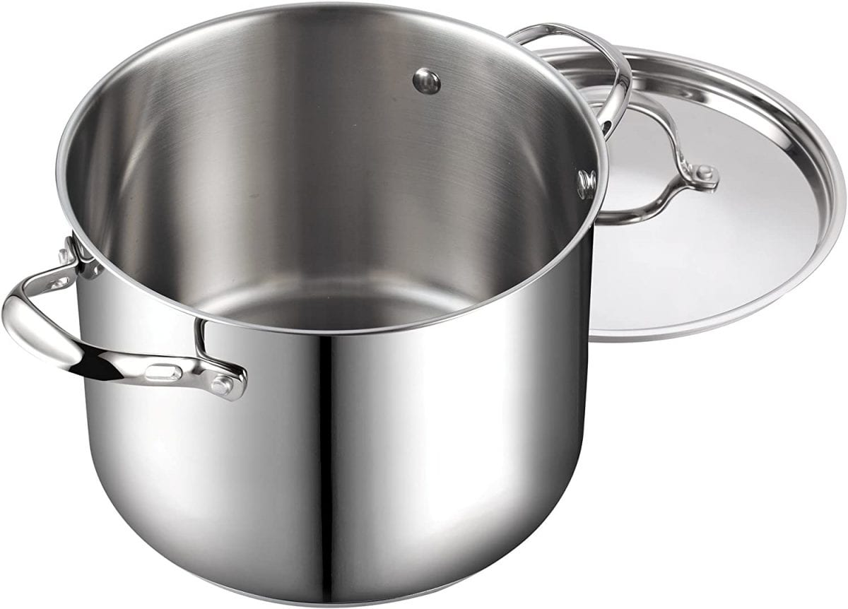 Cook Standard silver stock pot with lid