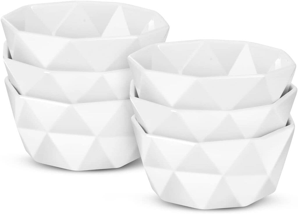 Delling Geometric Porcelain Ramekins
