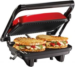 hamilton beach electric panini grill
