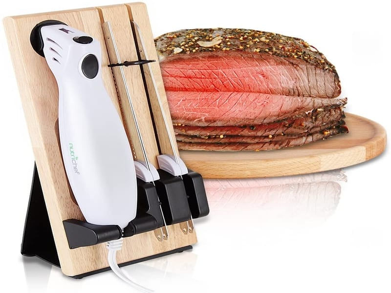 electric knife on a stand