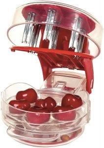Prepworks by Progressive Cherry Pitter, with cherries