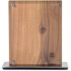 Schmidt Brothers - Acacia Midtown Magnetic Knife Block, with acrylic cover