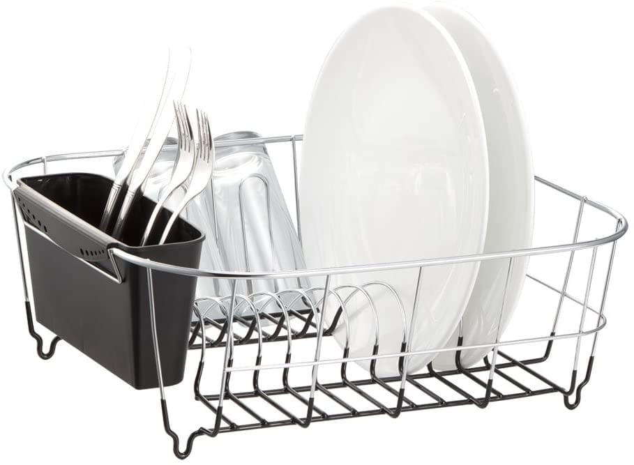 Deluxe Chrome-plated dish rack