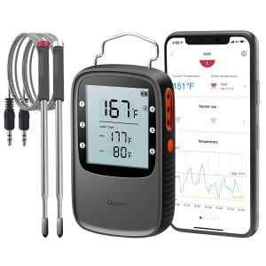 Govee Bluetooth Meat Thermometer, with wire accessories