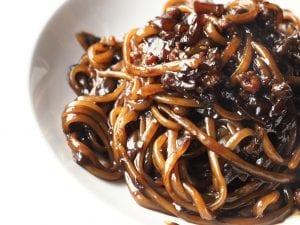 Jajangmyeon (Korean Noodles in Black Bean Sauce) Recipe