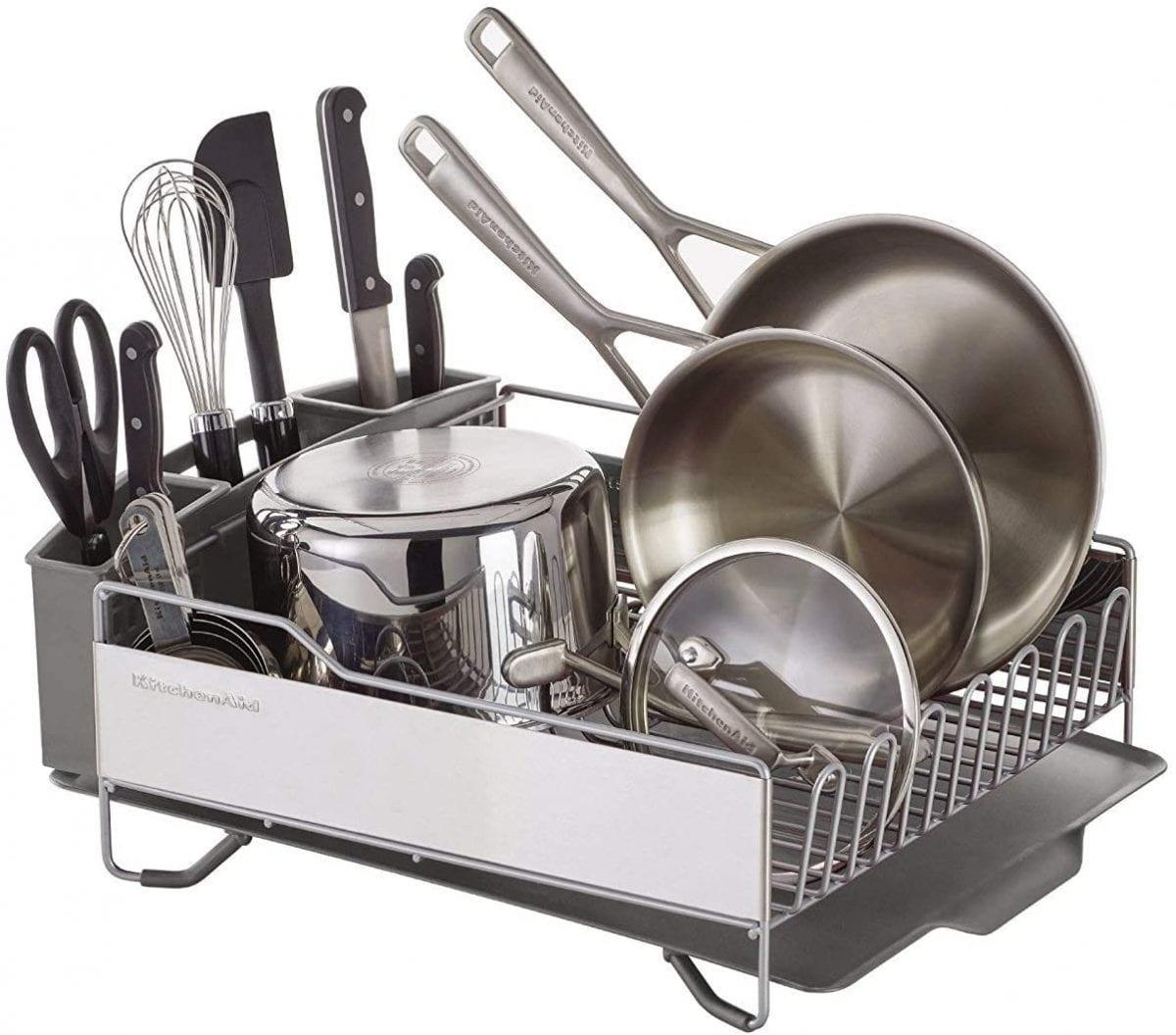 KitchenAid counter dish rack