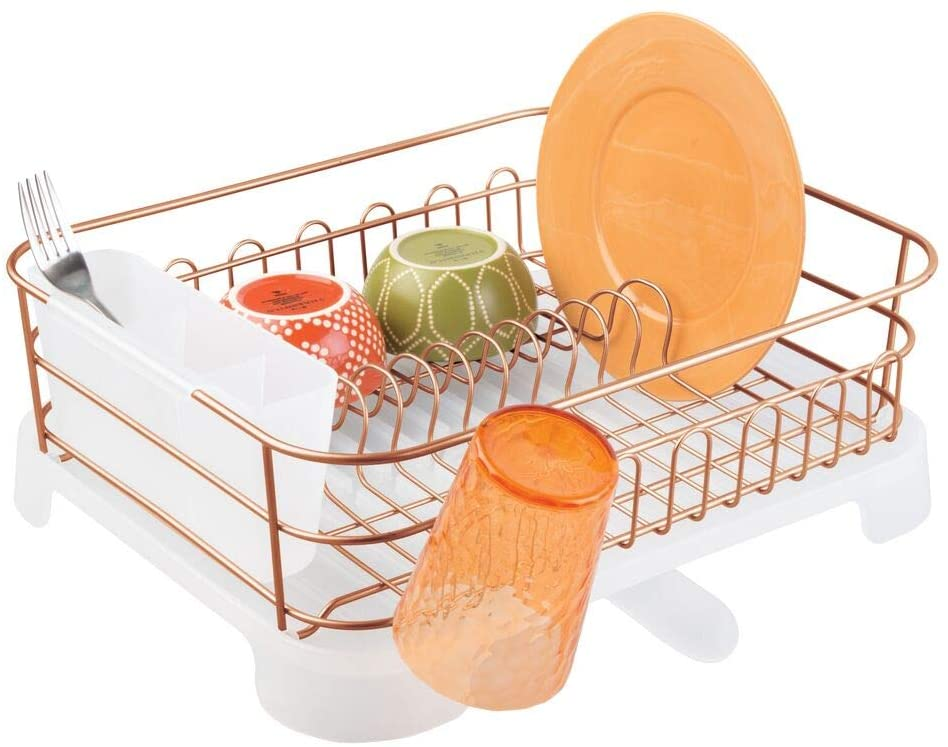 mDesign copper dish rack