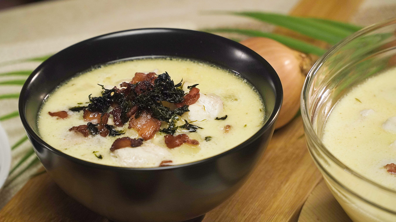 Eventide's Japanese-Inspired Seafood Chowder Recipe