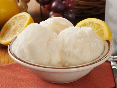 Lemon Sherbet Recipe, how to make lemon sherbet ice cream