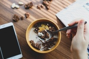 Chocolate Almond Granola Recipe