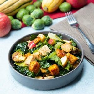 Fall Apple and Delicata Squash Salad Recipe