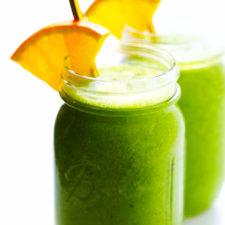 """Green """"Julius"""" Orange Smoothie Recipe"""